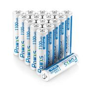 DEAL STACK - POWXS AAA Rechargeable Batteries 16 Pack with Cases + 19% Coupon