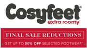 CosyFeet Sale - Wider, Deeper and Roomier Shoes