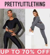 Up to 70% off ACTIVEWEAR SALE at Pretty Little Thing