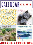 2021 Calendars, Organisers, & Diaries SALE - 40% OFF + EXTRA 10% OFF