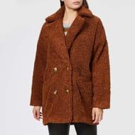 Gestuz Women's Eri Jacket - Caramel (Medium/Large)