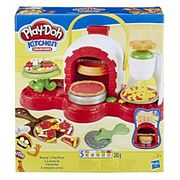 Play-Doh Stamp 'N Top Pizza Oven Toy with 5 Non-Toxic Play-Doh
