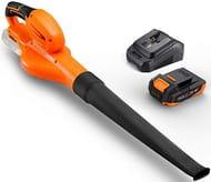 TACKLIFE 18V Cordless Leaf Blower, Weight-1.15KG,