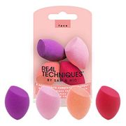 Real Techniques Mini Miracle Complexion Sponges, Pack of 4
