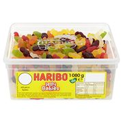 HARIBO Jelly Babies Jelly Men, Bulk Sweets, 1.08 Kg Tub