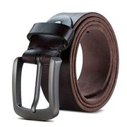 Mens Leather Belt Genuine Leather Belt for Jeans Casual and Formal Wear