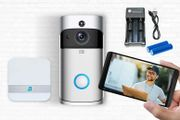 Smart HD WiFi Security Doorbell - 4 Options from £24.99