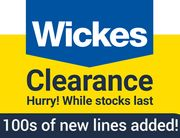 WICKES CLEARANCE DEALS - 100s of New Lines Added!