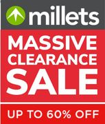 MILLETS MASSIVE CLEARANCE SALE - up to 60% OFF