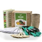 Vegetable Seed Growing Kit - Great Starter Kit @Amazon