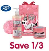 Boots Offer - Save 1/3 on SOAP & GLORY
