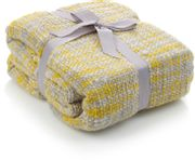 Yellow Chunky Yellow Throw