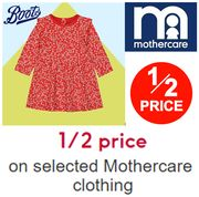 BOOTS - 1/2 Price Mothercare Baby Clothes & Kids Clothes