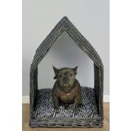 Large Rattan Dog House