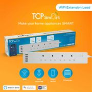 TCP Wifi Extension Lead 4 Gang