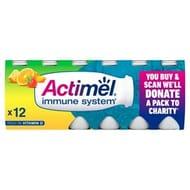 Actimel Multifruit Yogurt Drinks