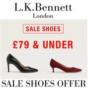 LAST DAY! LKB Sale Shoes Offer - £79 and Under