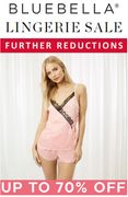 Bluebella Sale - up to 70% off Bras, Knickers, Bodies, Camis, Teddies, Basques..