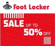 FOOT LOCKER SALE - up to 50% off Nike, Adidas, Fila, Reebok >>>