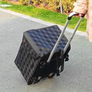 Lightning Deal! Collapsible Shopping Trolley