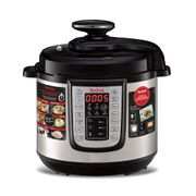 Save £20 Tefal - Black and Silver 'All-in-One' 6L Electric Pressure Cooker
