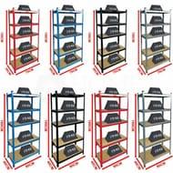 5 Tier Shelving Heavy Duty Racking Boltless Industrial Shelves Code Purchase10