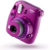 Fujifilm Instax Mini 9 Instant Camera with 10 Shots - Clear Purple