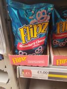 Flipz Strawberry Cheesecake Coated Pretzels 90G
