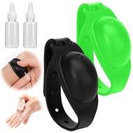 Hand Sanitizer Dispenser Adjustable Wristband Silicone Bracelet