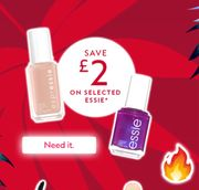Save £2 on Selected Essie