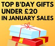 Top Birthday Presents Under £20 In The January Sales