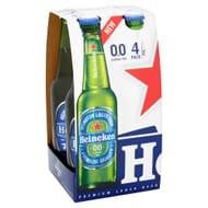 Heineken 0.0% Bottles 4x330ml - £2 Exclusive Co-Op Member Deal