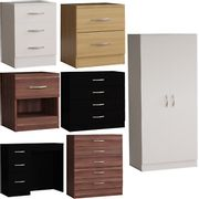 Modern Chest of Drawers Bedside Cabinet Nightstand Table - Only £19.75!
