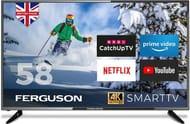 "*SAVE £20* Ferguson 58"" Ultra HD 4K Smart LED TV"