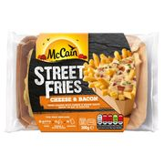 McCain Cheese and Bacon Street Fries £2.50 /2 for 4 Quid