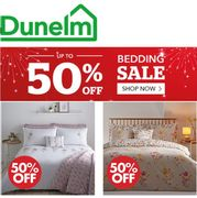 DUNELM BEDDING SALE - Lots of HALF PRICE Duvet Covers Sets from £6