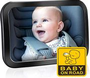 Baby Car Mirror for Back Seat, OMORC (Upgraded Version)