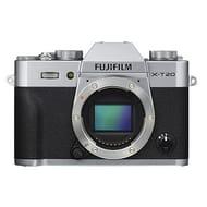 Fujifilm X-T20 Digital Camera Body - Silver - Only £349!