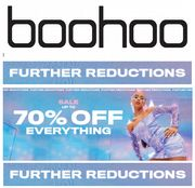 BOOHOO SALE - up to 70% off - FURTHER REDUCTIONS NOW!