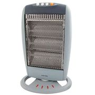 Warmlite WL42005 1.2kW Halogen Heater - Grey