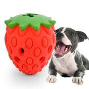 Indestructible Dog Christmas Toys for Aggressive Chewers Strawberry - 50% Off