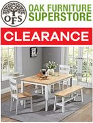 OAK FURNITURE SUPERSTORE - CLEARANCE SALE - up to 75% OFF