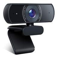 Crosstour Webcam, 1080P Full HD Webcam Web Camera