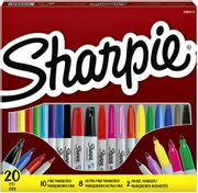 Sharpie 20 Piece Assorted Marker Set - Free Home Delivery