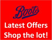 Boots - LATEST OFFERS - The Complete Range