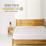 50% off Bedsure Mattress Cover with Fitted Skirt (Up to 45cm Deep Pocket)