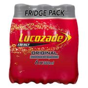 Lucozade Fridge Pack 6x380ml