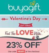 BUY A GIFT - Valentine's Day Gift Ideas + 23% off CODE