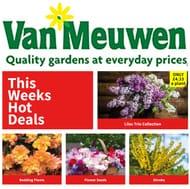 Van Meuwen SPECIAL GARDENING OFFERS on Flowers, Vegetables, Plants & Trees