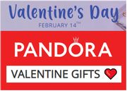 PANDORA Valentine Gifts From £20 Delivered + Last Chance Sale